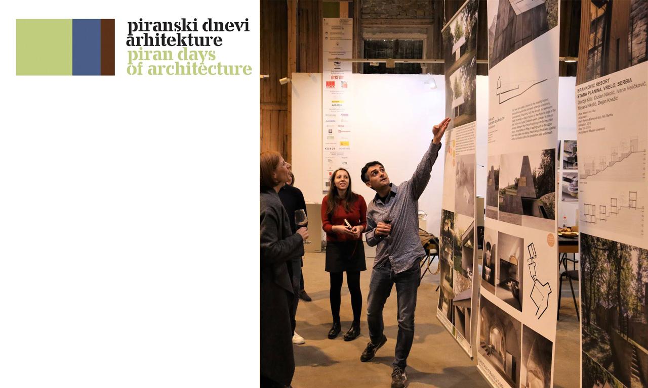piran days of architecture 2018